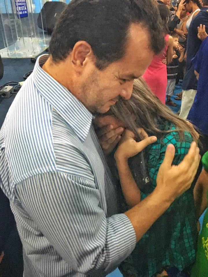 Manaus, Brazil - lady's response after being healed